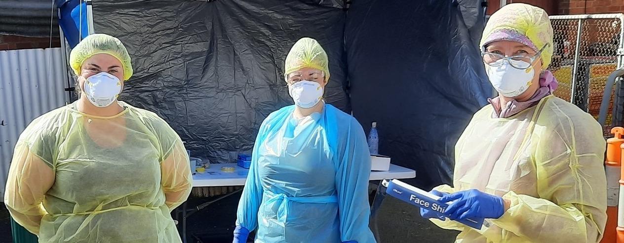 COVID Screening clinic on Tuesdays